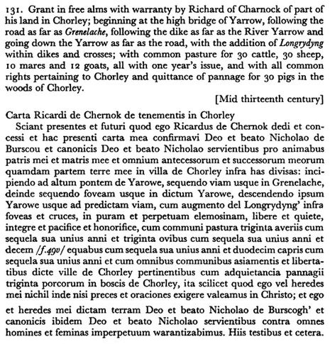 Scanned version of Charter
