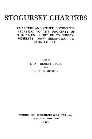 Stogursey Charters