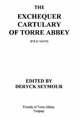 Exchequer Cartulary of Torre Abbey