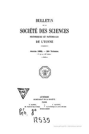 Chartes de l'Église Saint-Pierre de Tonnerre