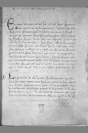 Le Cartulaire de la Seigneurie de Nesle