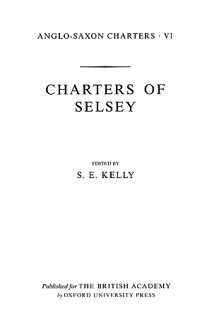 Charters of Selsey