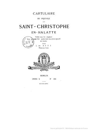 Cartulaire du prieuré de Saint-Christophe-en-Halatte, Fleurines