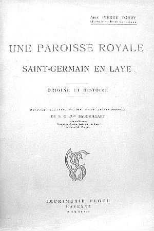 Le prieuré de Saint-Germain-en-Laye, Origines et cartulaire