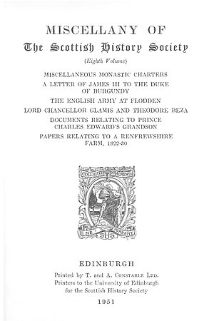 Miscellaneous Monastic Charters