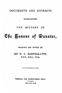 Cartulary 0160 - Documents and Extracts Illustrating the History of the Honour of Dunster