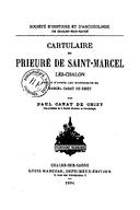 Cartulary 0213 - Cartulaire du Prieuré de Saint-Marcel-lès-Chalon