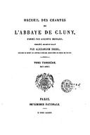 Cartulary 0216 - Recueil des Chartes de l'Abbaye de Cluny(Tome 3)