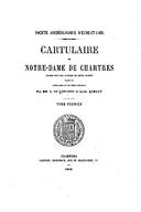 Cartulary 0480 - Cartulaire de Notre-Dame de Chartres(V.1)