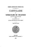 Cartulary 0481 - Cartulaire de Notre-Dame de Chartres(V.2)