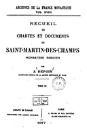 Cartulary 0490 - Recueil de chartes et documents de Saint-Martin-des-Champs(Tome 3)