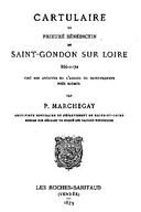 Cartulary 0500 - Cartulaire du prieuré bénédictin de Saint-Gondon sur Loire, 866-1172