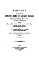 Cartulary 0504 - Cartulaire de l'abbaye de Notre-Dame des Vaux de Cernay(Part 3)