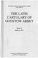 Cartulary 0545 - The Latin Cartulary of Godstow Abbey