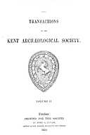 Cartulary 0572 - Pedes Finium [Kent](Volume 2)