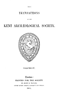 Cartulary 0574 - Pedes Finium [Kent](Volume 4)