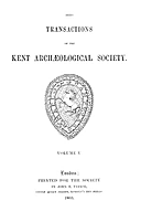 Cartulary 0575 - Pedes Finium [Kent](Volume 5)