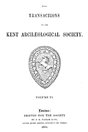 Cartulary 0576 - Pedes Finium [Kent](Volume 6)
